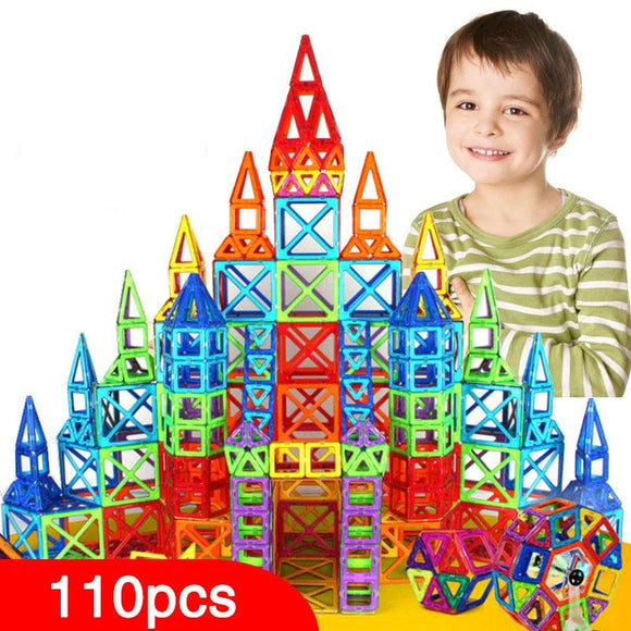 Creative Magnetic Tiles Building Set - SuperShopSale.com