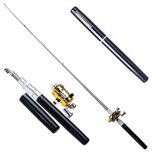 Load image into Gallery viewer, Travel Retractable Portable Pocket Fishing Pole - SuperShopSale.com