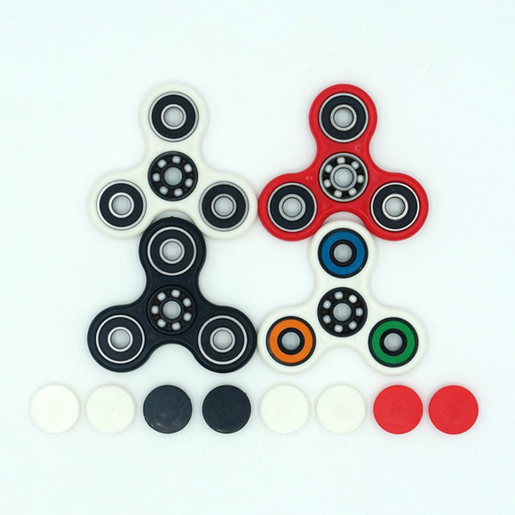 Triple Arms Hand Spinner Fidget Toy - SuperShopSale.com