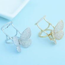 Load image into Gallery viewer, Crystal Stones Made Butterfly Ring [Limited Edition] - SuperShopSale.com