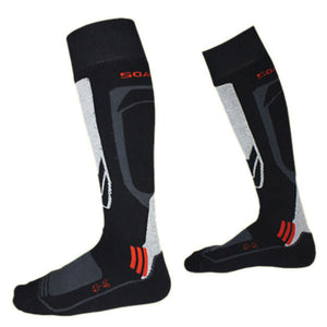 Winter Thermal Ski Socks Cotton Sports Snowboard Cycling Socks - SuperShopSale.com