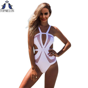 Nevada Mesh Cut Out Swimsuit - SuperShopSale.com