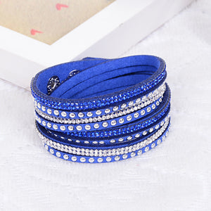 Unisex Multilayer Leather Bracelet
