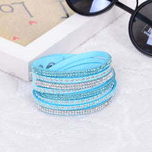 Load image into Gallery viewer, Unisex Multilayer Leather Bracelet
