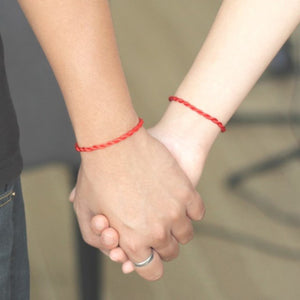 Red Rope Bangle Lucky Bracelets for Lovers / for Men and Women
