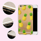 Fruit Pineapple, Lemon, Banana, Soft Silicon Transparent Case Cover For Apple iPhone 4, 4S, 5, 5S SE, 5C, 6, 6S, 6Plus, 6S Plus, FREE + SHIPPING - SuperShopSale.com
