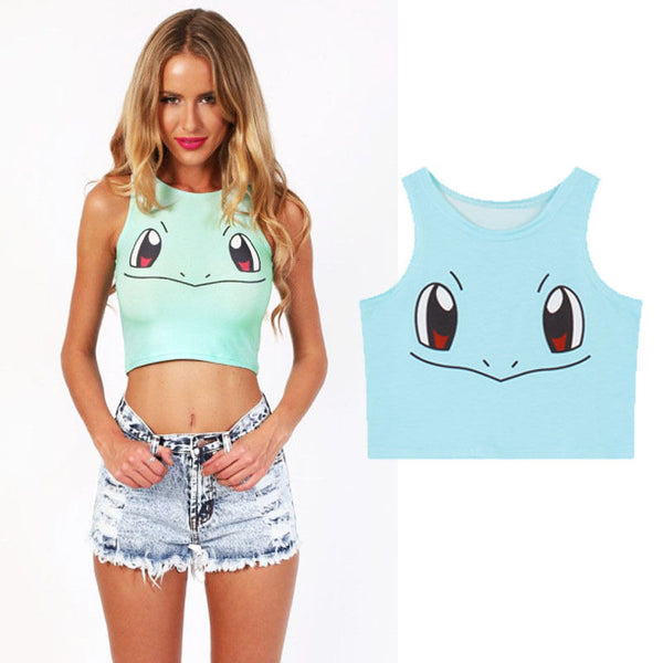 Pokemon Tank Top Shirt