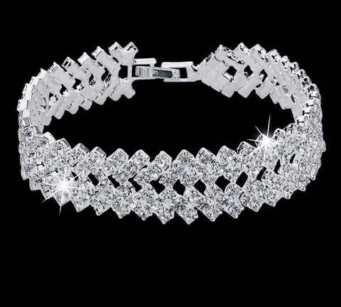 Luxury Crystal Bracelets For Women (Free Shipping)