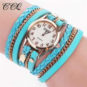 Casual Fashion Wrist Watch Leather Bracelet for Women (Free Shipping) - SuperShopSale.com