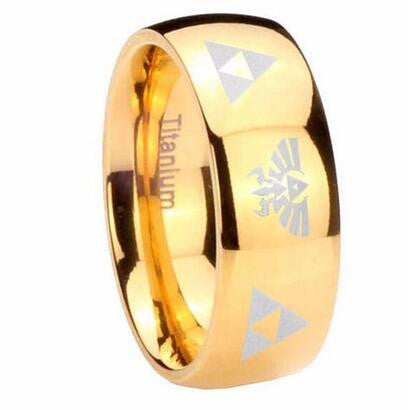 The Legend of Zelda Triforce Ring
