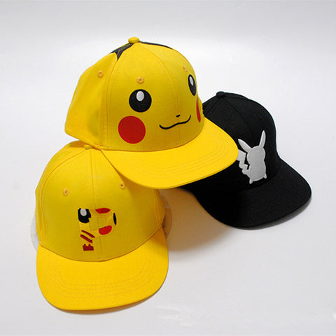 Pokemon Pikachu Baseball Caps Adults and children