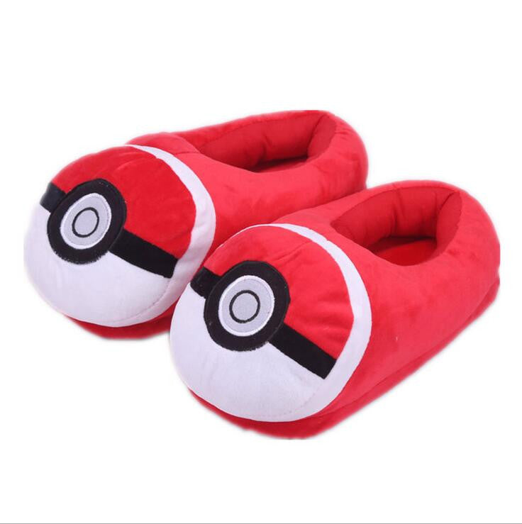 Pokemon Pikachu Plush Shoes for Children