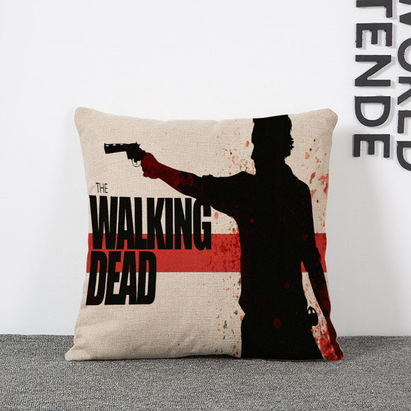 The Walking Dead Pillow Cover