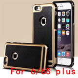 Ultra Thin Shockproof Rubber PC and TPU Hybrid Case Cover For Apple iPhone 5S SE 6 6S 6 plus High Quality