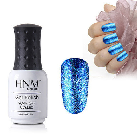 HNM Glitter UV Gel Nail Polish