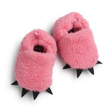 Load image into Gallery viewer, 'Monster' paw first walker slippers - SuperShopSale.com