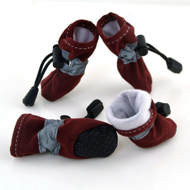 Winter Dog Shoes (7 Color Choices) - SuperShopSale.com