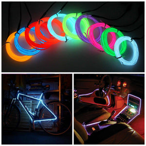 """Wild Wire"" 3 Meter Neon Light Flexible Wire"