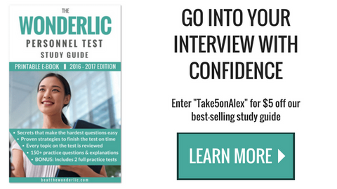 Wonderlic Personnel Test Study Guide