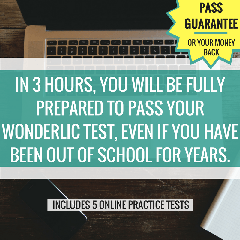 The Complete Wonderlic Test Online Course