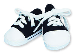 BLACK & WHITE TENNIES