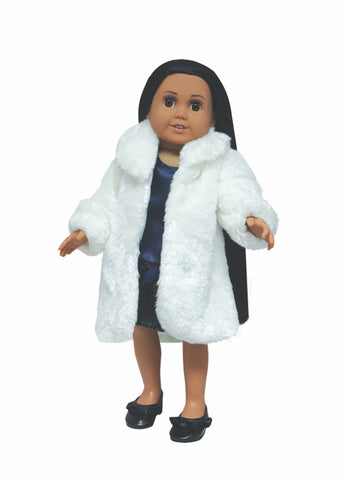 Clothing,Springfield,FUR COAT               WHITE