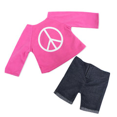 Clothing,Springfield,PEACE SWEATSHIRT & SHORTS