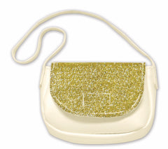 Accessories,Springfield,GLITTER CROSSBODY BAG   WHITE
