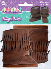 Shoes,Springfield,BROWN FRINGE BOOT