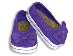 Purple Slip-Ons