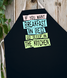 Attitude Aprons Breakfast in Bed