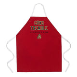 Attitude Apron Cows Tremble - LA IMPRINTS