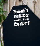 Attitude Apron Don't Mess with the Chef