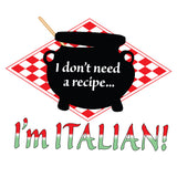 Attitude Apron Italian Recipe - LA IMPRINTS