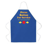 Attitude Apron Press Button - LA IMPRINTS