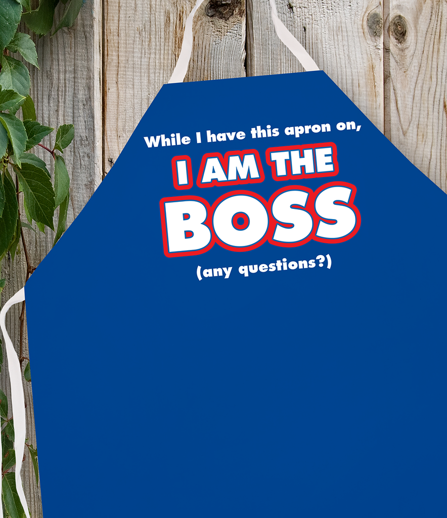 Attitude Apron I am the Boss - LA IMPRINTS
