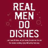 Attitude Apron Real Men Do Dishes - LA IMPRINTS