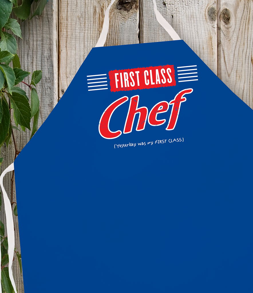 Attitude Apron First Class Chef - LA IMPRINTS