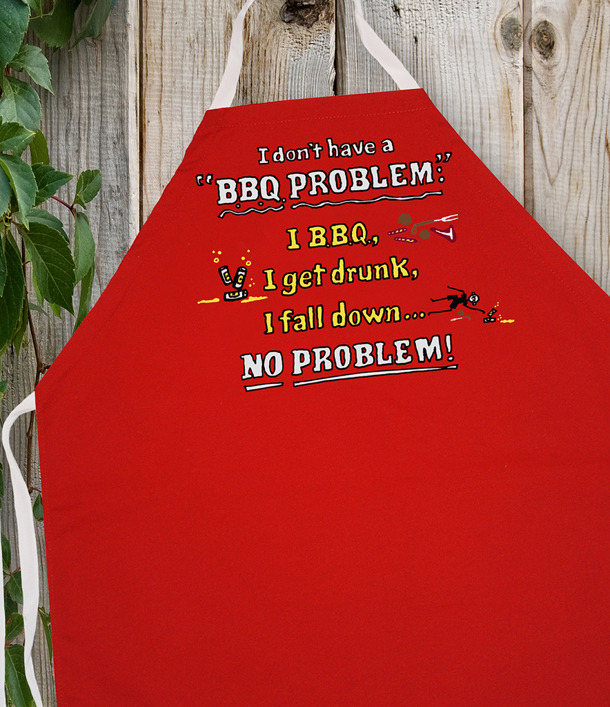 Attitude Apron BBQ Problem - LA IMPRINTS