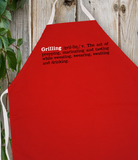 Attitude Apron Grilling Definition - LA IMPRINTS