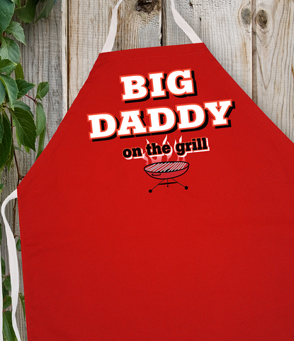Attitude Apron Big Daddy - LA IMPRINTS