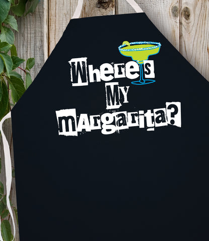 2196 Where's My Margarita (Attitude Apron)