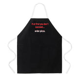 Attitude Apron Order Pizza - LA IMPRINTS