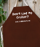 Attitude Apron Don't Like My Grillin' - LA IMPRINTS