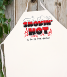Attitude Apron Smokin' Hot - LA IMPRINTS