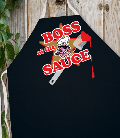 Attitude Apron Boss of the Sauce - LA IMPRINTS