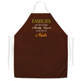 Attitude Apron Families are like Fudge