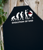 Attitude Apron Evolution of Dad - LA IMPRINTS