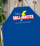 Attitude Apron Grill Master Superpower - LA IMPRINTS