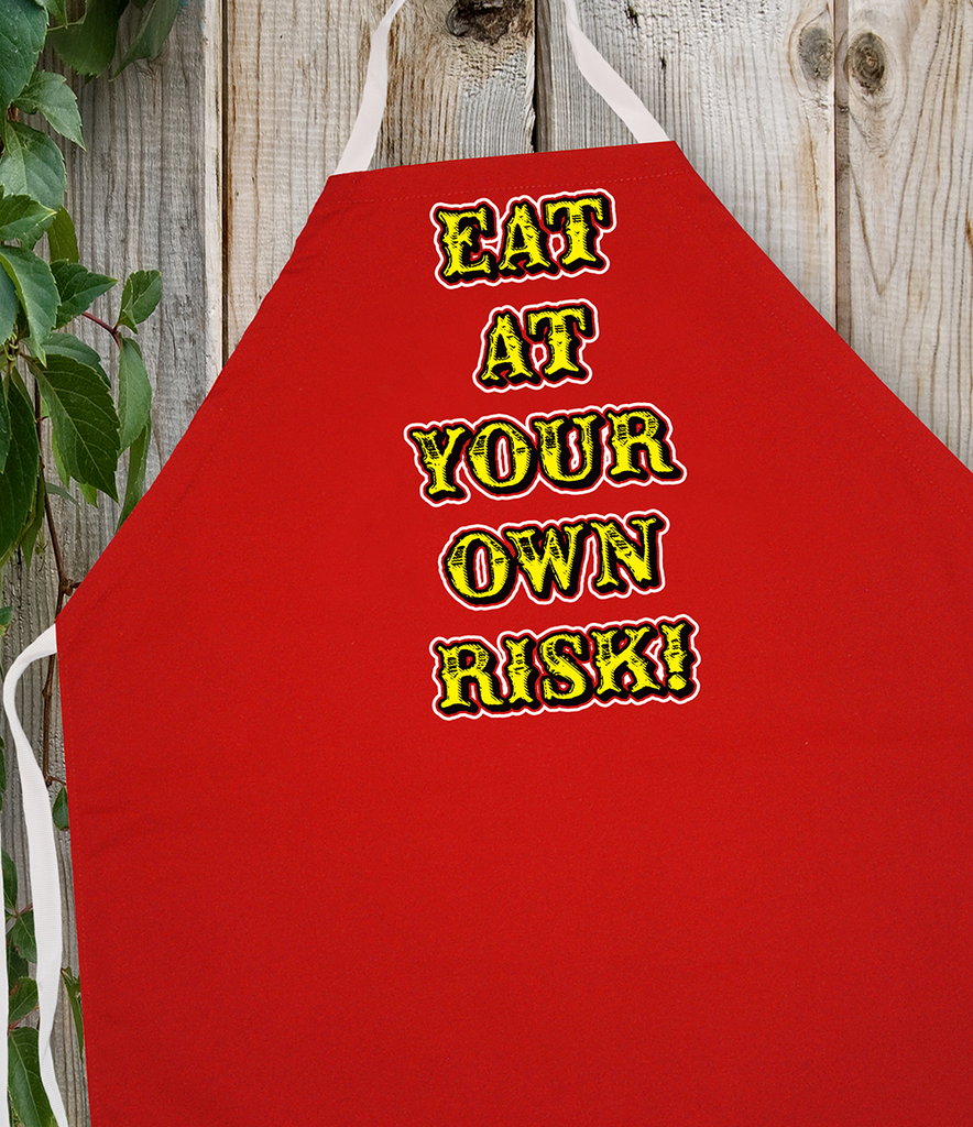 Attitude Apron Own Risk